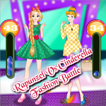 Rapunzel vs Cinderella: Fashion Show