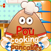 Pou: Cooking Pancakes