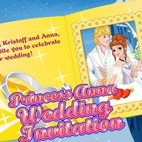 Princess Anna: Wedding Invitation