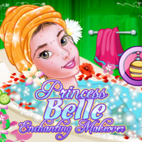Princess Belle: Enchanting Makeover