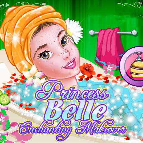 Princess Belle: Enchanting Makeover