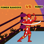 Power Ranger Vs Robot