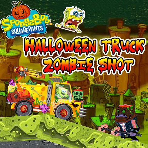 SpongeBob SquarePants: Halloween Truck Zombie Shot