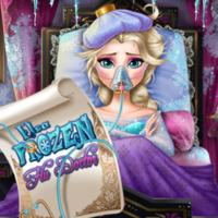Elsa Frozen Flu Doctor