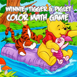 Winnie, Tigger & Piglet: Color Math Game