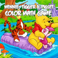 Winnie, Tigger & Piglet Color Math Game