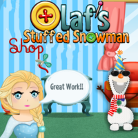 Olaf's Stuffed Snowman Shop