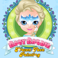 Baby Barbie: Frozen Face Painting