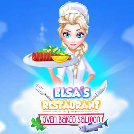 Elsa's Restaurant: Oven Baked Salmon