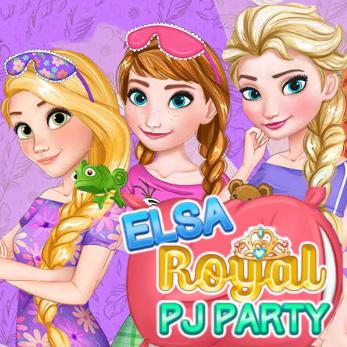 Elsa: Royal PJ Party