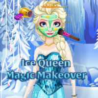 Ice Queen: Magic Makeover