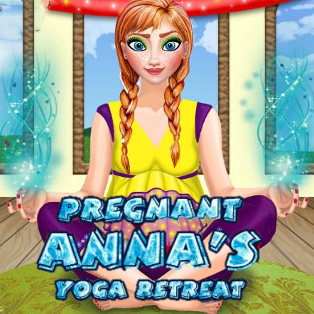 Pregnant Anna's Yoga Retreat