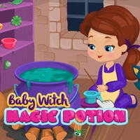 Baby Witch: Magic Potion