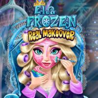 Elsa Frozen: Real Makeover
