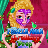 Frozen Anna Christmas Prep