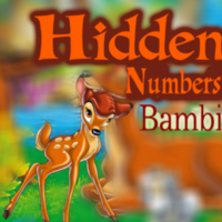 Hidden Numbers Bambi