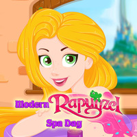 Modern Rapunzel Spa Day