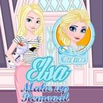 Elsa Make Up Removal