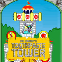 Dr. Rabbit's Toothpaste Tower