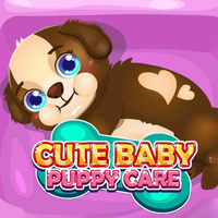 Cute Baby Puppy Care