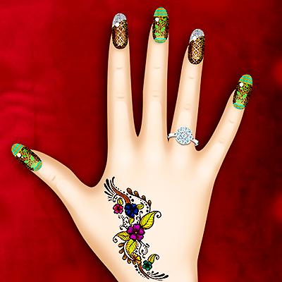 Jogos de pintar unhas