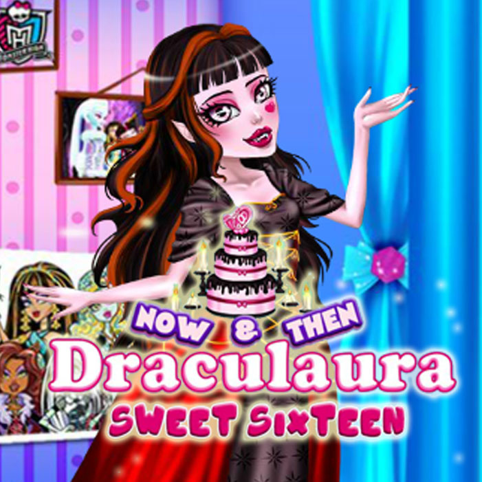 Now & Then Draculaura Sweet Sixteen