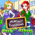 Manga Princesses Back To School