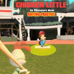 Chicken Little In Theaters Now Batting Practice