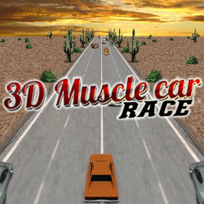 3D Muscle Car Race