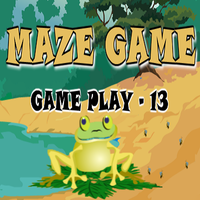 Maze Game Game Play - 13