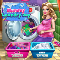 Mommy Laundry Day