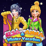 Elsa & Anna Winter Vacation
