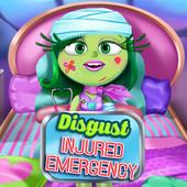 Disgust Injured Emergency