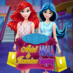 Ariel & Jasmine Mall Shopping