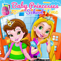 Baby Princesses School Time