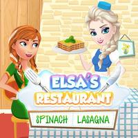 Elsa's Restaurant Spinach Lasagna