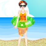 바다 수영 복장
