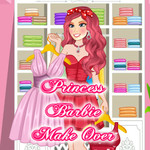 Princess Barbie Makeover