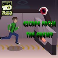 Ben 10 Escape From The Enemy