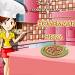 Sara's Cooking Class Homemade Pizza