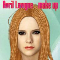 Avril Lavigne make up