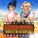 Princesses Movie Rehearsal