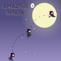 เกมออนไลน์ฟรี, You can play Amazing Ninja in your browser for free. One day, I was woken up by the noise on the street. From my window, I saw a skillful ninja jumping on the roofs, from building to building. He is so fast.