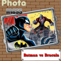 Photo Mess Batman Vs Dracula