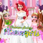 Frozen Sisters Flower Girls