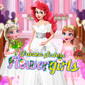 Frozen Sisters Flower Girls