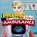 Pregnant Elsa Ambulance