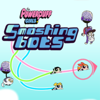 Powerpuff Girls Smashing Bots