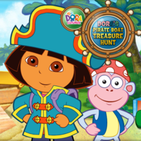 Dora The Explorer Dora's Pirate Boat Treasure Hunt