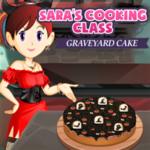 Sara's Cooking Class Graveyard Cake
